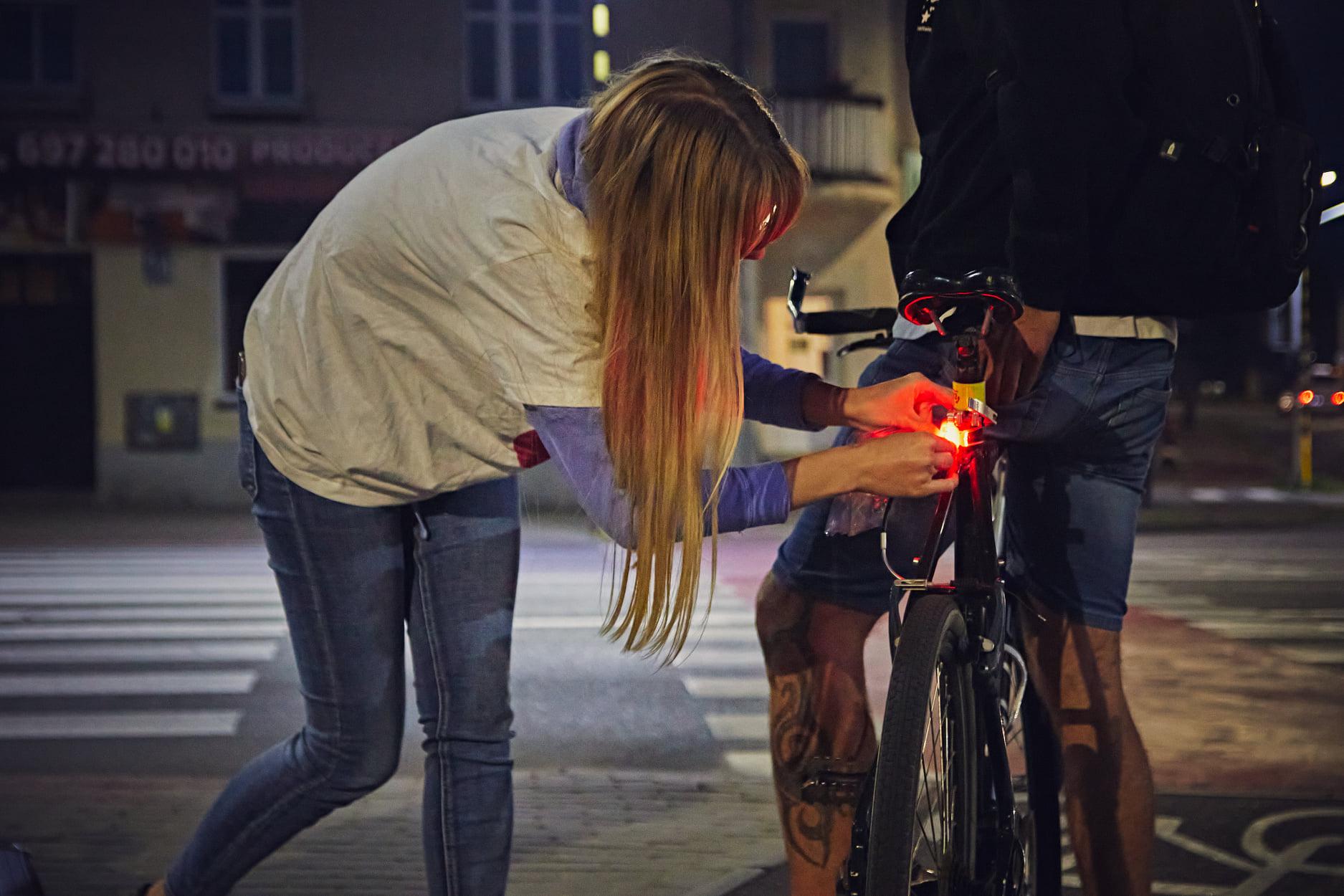 Jump on the bike