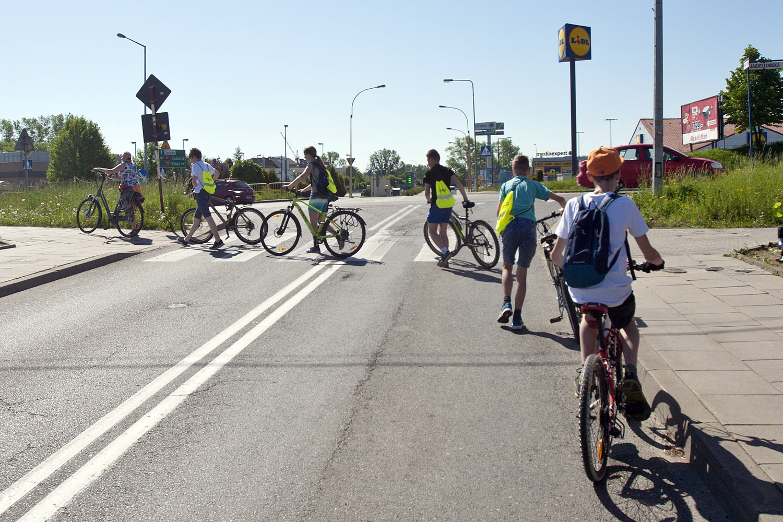 Edukacja rowerowa dla tczewskich uczniów i uczennic